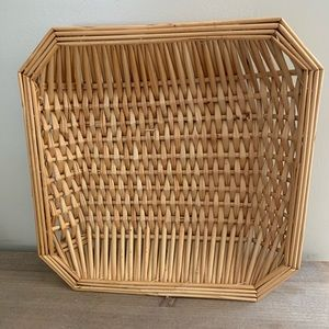 Other - Square Wicker tray dish